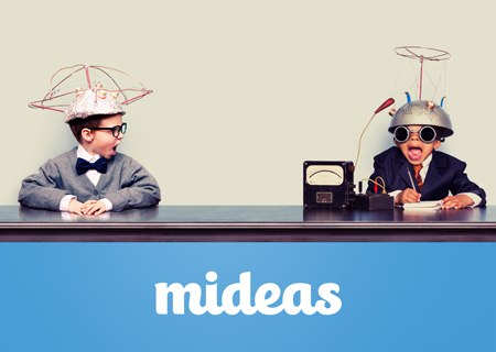 Mideas Website Wordpress Coding, Corporate Branding, Logo Design